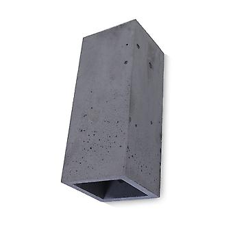 Concrete lamp Wall lamp Guro anthracite H: 25 cm 10745