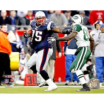 Vince Wilfork 2006 AFC Wild Card Game Photo Print