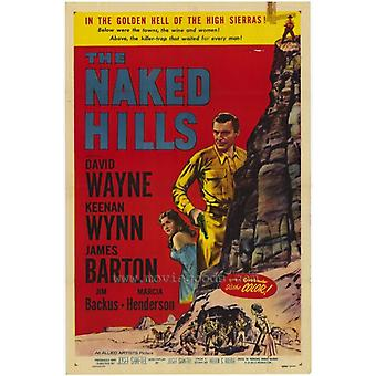 Naken Hills film plakat (11 x 17)