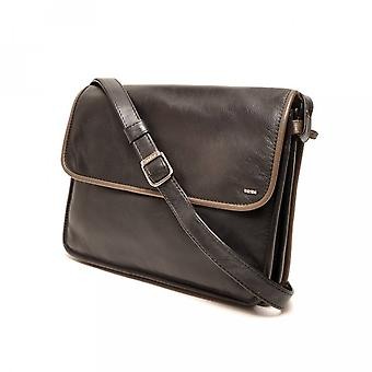 Berba Learn ladies bag Soft 005-575-14 Black-Taupe