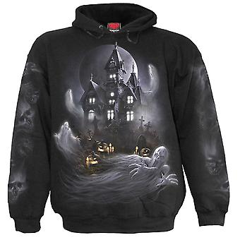 Spiral Direct Mens Living Dead Hoodie Hoody Hooded Jumper Zombie Ghost Cat Grave