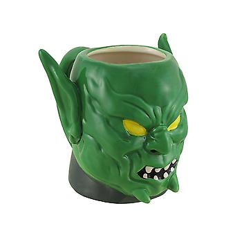 Marvel Comics Green Goblin Molded Ceramic Mug