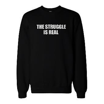 The Struggle Is Real Sweatshirt Back To School Unisex Sweat Shirt