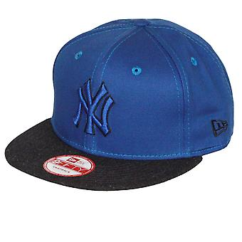 Nieuwe tijdperk en MLB Heather Mix 9Fifty Snapback Cap ~ New York Yankees