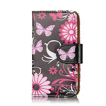 Design book case cover for Samsung Galaxy Ace 4 SM-G357FZ (UK) - Gerbera