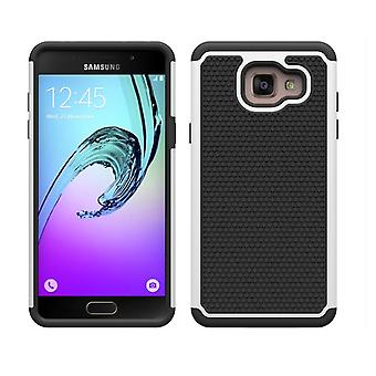 Shock proof case + stylus for Samsung Galaxy A3 (2016) - White