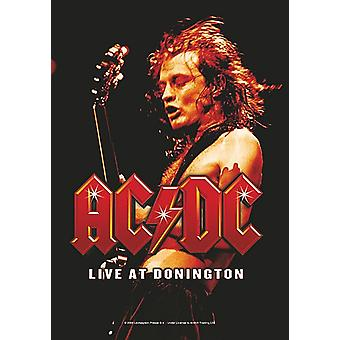 AC/DC Live At Donington large fabric poster / flag 1100mm x 750mm (hr)