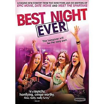 Importare Best Night Ever [DVD] Stati Uniti d'America
