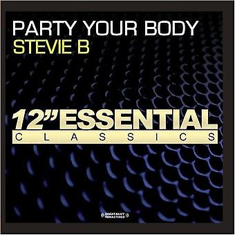 Stevie B - Party Your Body [CD] USA import
