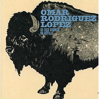Omar Rodriguez-Lopez - SE terninger Bisonte No Bufalo [CD] USA import