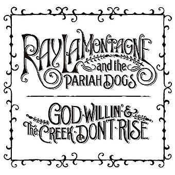 Ray Lamontagne & paria hunde - Gud Willin' & Creek ikke stige [Vinyl] USA importen