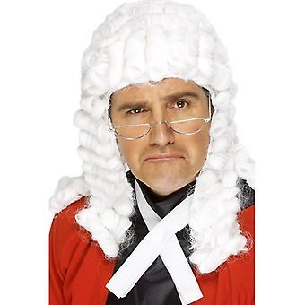 Judge wig, white