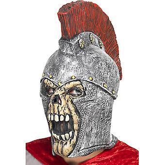 Roman zombie mask Halloween legionnaire skeleton skull
