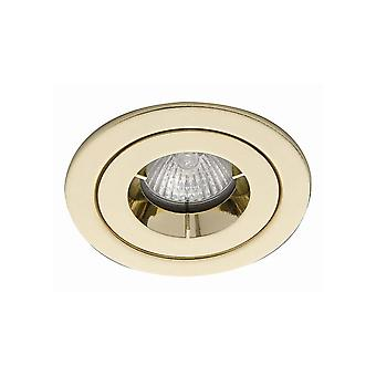Ansell ICage Mini Showerlight IP65 50W GU10 Brass