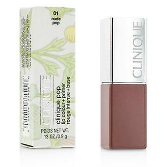 Clinique Clinique Pop Lip Colour + Primer - # 01 Nude Pop - 3.9g/0.13oz