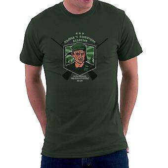 Sarges Survival Academy Platoon Sergeant Barnes Men's T-Shirt