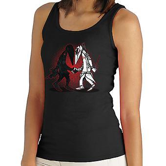 Ninja Vs Ninja Snake Eyes Vs Storm Shadow Spy Vs Spy GI Joe Women's Vest