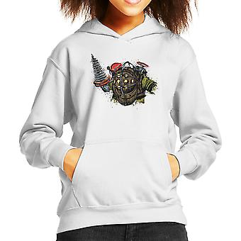 BioShock Big Daddy Kid's Hooded Sweatshirt