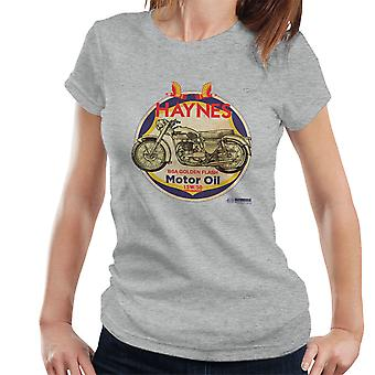 Haynes Brand Richfield BSA Motor Oil Women's T-Shirt