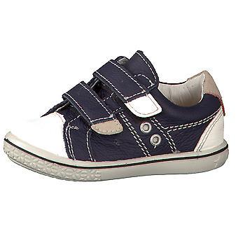 Ricosta Pepino niños zapatos Nippy Ozean marino blanco