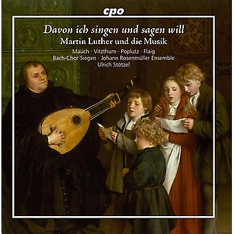 Bach, J.S. / Eccard / Fabricius / Mauch - Martin Luther & the Music [CD] USA import