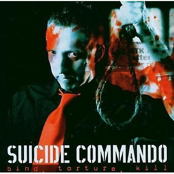 Selvmord Commando - binde tortur dræbe [CD] USA importerer