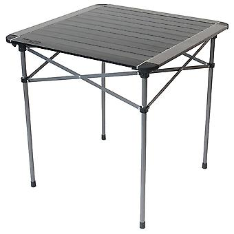 Yellowstone Aluminium Single Roll Top Camping Table Graphite