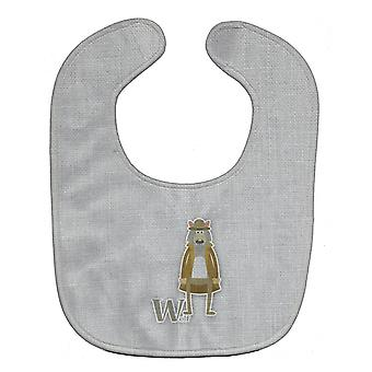 Carolines skatter BB5748BIB alfabetet W for ulv Baby smekke