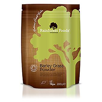 Rainforest Foods, Organic NZ Barley Grass Powder, 200g