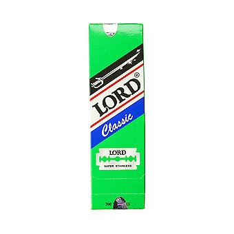 Lord Classic Super Stainless Double Edge Razor Blades (200 Blades)