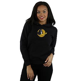 Looney Tunes Women's Daffy Duck Dotted Profile Hoodie