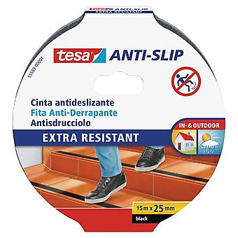 TESA Antislip Tape 15Mx25Mm Black (DIY, Hardware, lijm en kleefmiddelen)