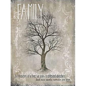 Family - Like Branches of a Tree Poster Print by Marla Rae (18 x 24)
