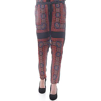 Maison Scotch Womens Silky Pants With A Paisley Print