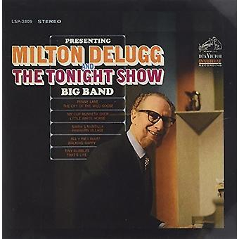 Milton Delugg - præsentere Milton Delugg & Tonight Show Big Band [CD] USA import