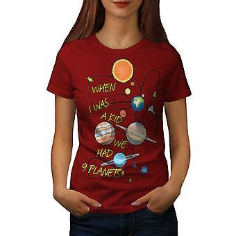 När jag var en unge kvinnor RedT-skjorta | Wellcoda