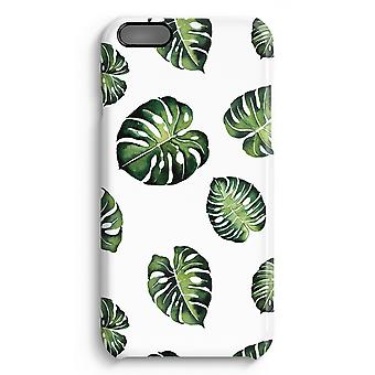iPhone 6 Plus Full Print Case (Glossy) - Tropical leaves