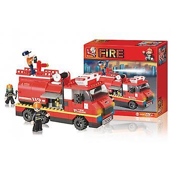 Sluban Building Blocks Fire Series Large Fire Truck