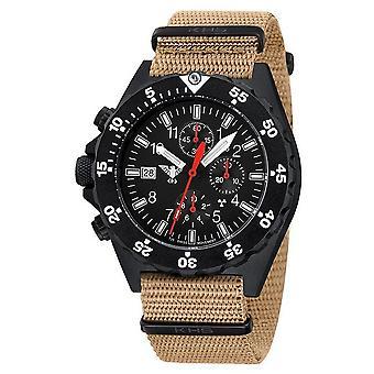 KHS watches mens watch shooter chronograph KHS. SHC. NT