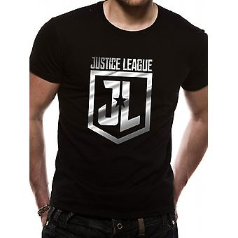 Justice League Movie - Foil Logo (Unisex)   T-Shirt