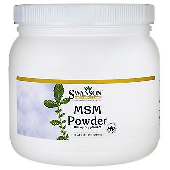 Swanson Msm Powder 454 gr (Sport , Athlete's health , Bones & joints)