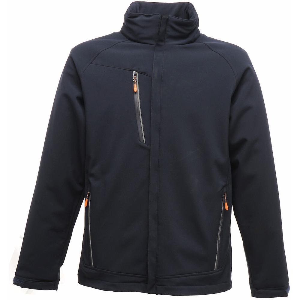 Régate Mens Apex imperméable respirante Softshell Jacket TRA670 marine