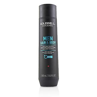 Goldwell Dual Senses Men Hair & Body Shampoo (For All Hair Types) - 300ml/10.1oz