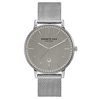 Poignet montre analogique quartz en acier inoxydable Kenneth Cole New York masculine KC50009005