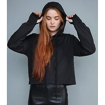 Mantis Womens/Ladies Cropped Hoodie