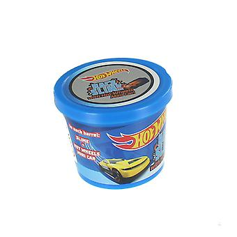 Hot Wheels Race Slime With Mini Car Putty Play Stretch Squeeze Shape 90g Tub