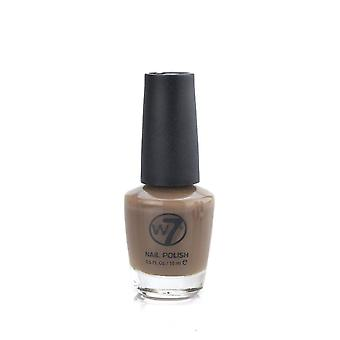 W7 Smalto di chiodo Cosmetics Brown/Nude