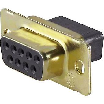 TE Connectivity AMPLIMITE HD-20 (HDP-20) D-SUB receptacles 180 ° Number of pins: 15 1 pc(s)