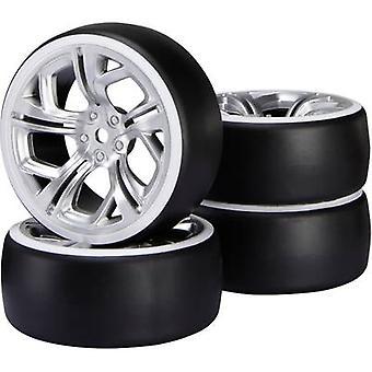 Reely 1:10 Road version Wheels Drift Y-spoke Silver 1 pc(s)