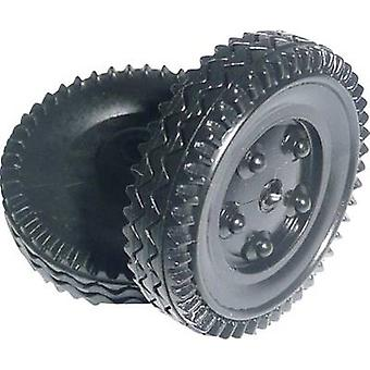 Workplace training material - Plastic tyre Reely (Ø) 24 mm